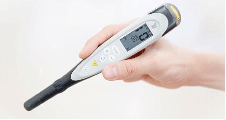 レーザー虫歯探知機